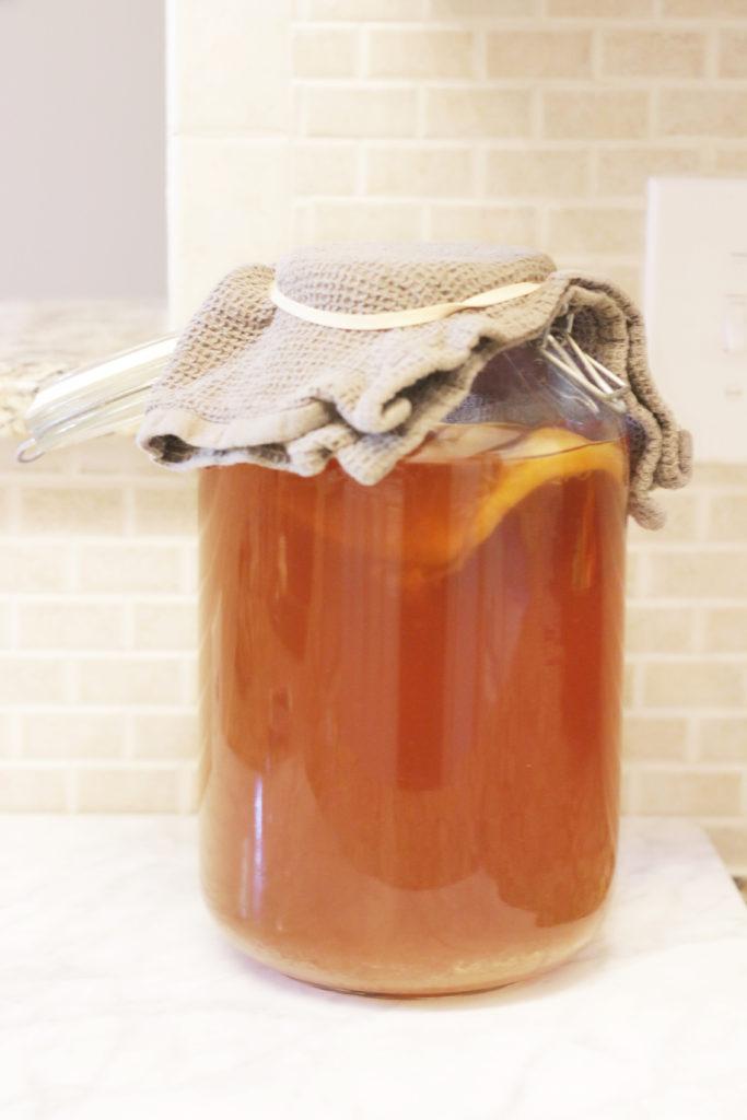 homemade kombucha   heatherlaurenlove.com