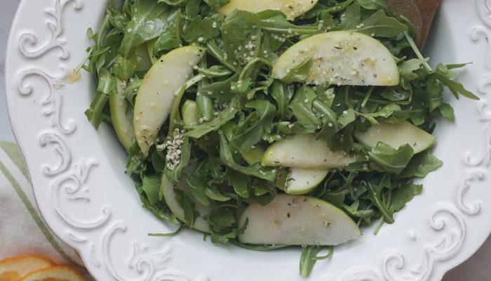 Sweet Fall Arugula Salad