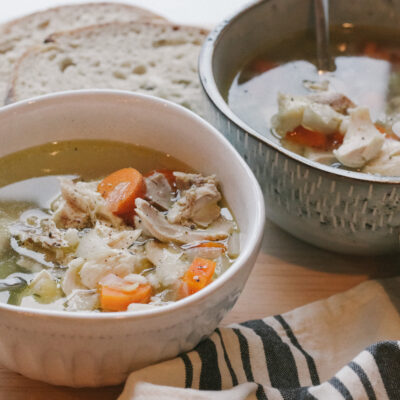 Momma's Old Fashion Chicken Soup (Whole Chicken)