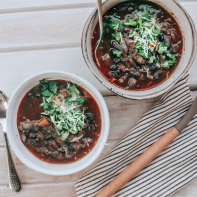 Instant Pot Chili (Dry Beans)